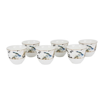 Garden's Birds Arabic Cups - Luxury Box Set of 6