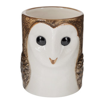 Barn Owl Ceramic Pen Pot