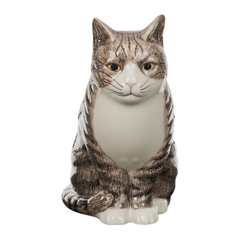 Ceramic Moggy Vase - Millie