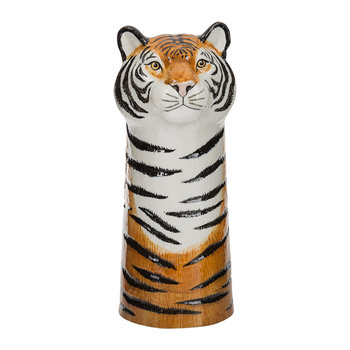 Ceramic Tiger Vase - Large