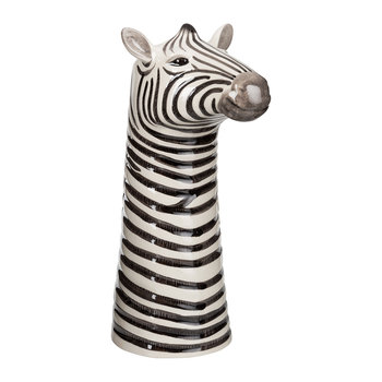 Ceramic Zebra Vase - Large