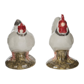 Chicken Salt & Pepper Shakers - Light Sussex