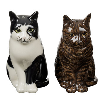 Moggy Salt & Pepper Shakers - Barney & Clementine