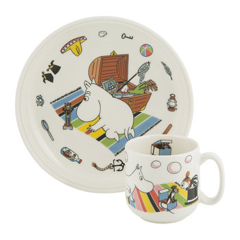Moomin Children's Set - Moomintroll