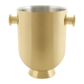 Trombone Champagne Cooler - Gold Plate