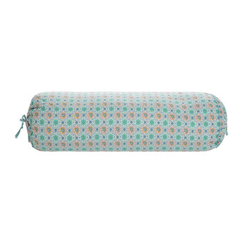 Double Check Neckroll - 22x70cm - Green