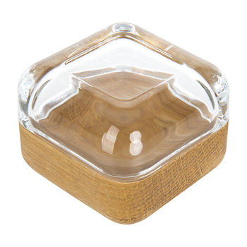 Vitriini Box - Clear/Oak