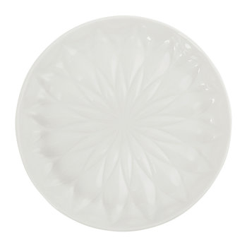 Black Tie Soap Dish - White