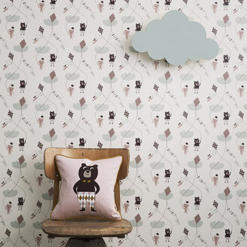 Cloud Wall Lamp - Mint