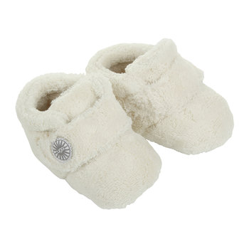 Bixbee Infant Slippers - Vanilla
