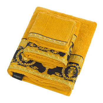 Barocco&Robe Towel - Gold/Black