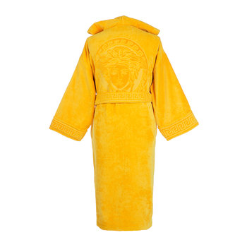 Medusa Classic Hooded Bathrobe - Gold