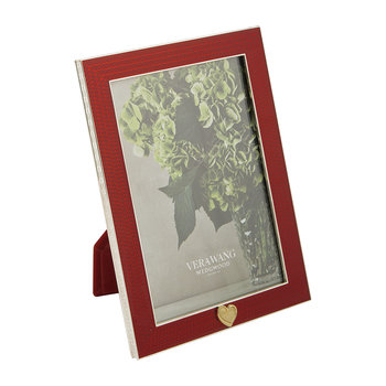 "With Love Gift Frame - 4""x6"" - Red Heart"