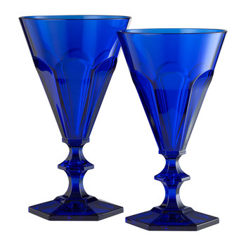 Giada Acrylic Wine Glass - Royal Blue