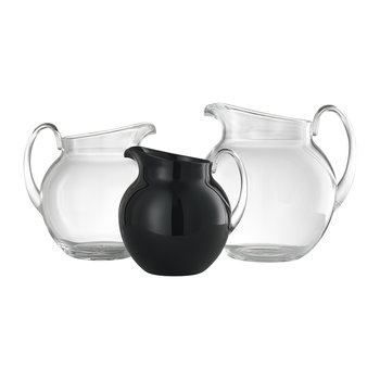 Plutone Acrylic Pitcher - Solid Black