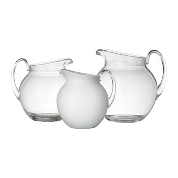 Plutone Acrylic Pitcher - Solid White