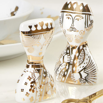 King & Queen Salt & Pepper
