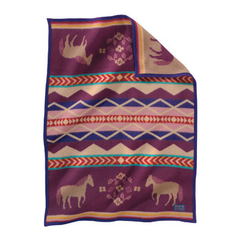 Muchacho Baby Blanket - Painted Pony