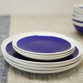 Datia Side Plate - Navy