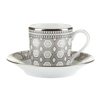 Hollywood Coffee Cup & Saucer