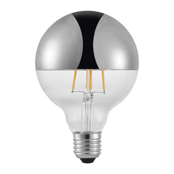 Avra E27 LED Metallic Bulb - Silver