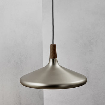 Float 39 E27 Pendant - Brushed Steel