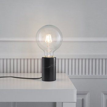 Siv E27 Table Lamp - Small - Black