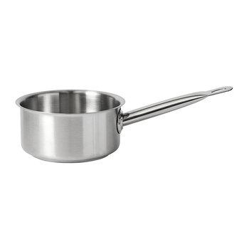 Stainless Steel Saucepan - Shallow
