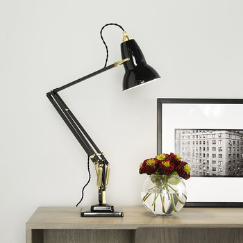 Original 1227 Brass Desk Lamp - Deep Slate
