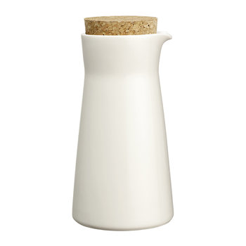 Teema Milk Pitcher with Lid - White