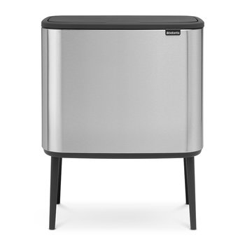 Bo Touch Bin - Matt Steel - Fingerprint Proof