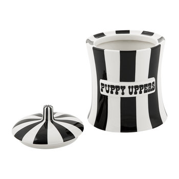 Vice Canister - Puppy Uppers - Black/White