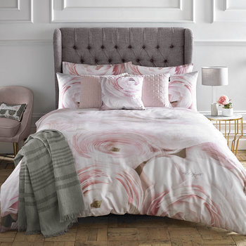 Rana Rose Duvet Cover - Pink