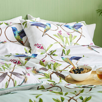 Highgrove Duvet Cover - Mint