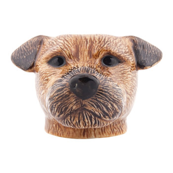 Border-Terrier Eierbecher