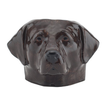 Chocolate Labrador Egg Cup