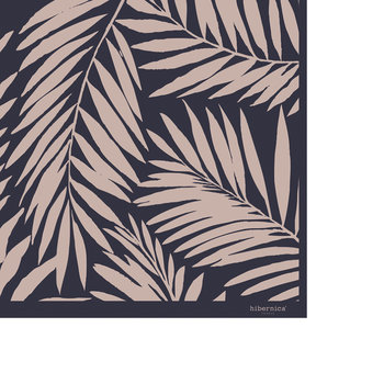 Leaves Vinyl Floor Mat - 99x150cm