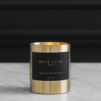 Bougie Scented Candle - Black Wood