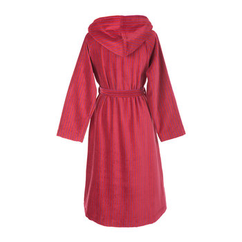 Siro Mari Bathrobe - Pink/Red