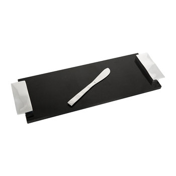 Ripple Effect Cheese Board & Knife - Small