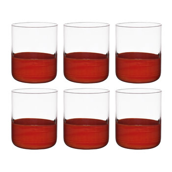 Gobelets Tache - Lot de 6 - Rouge