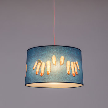Small Toiletpaper Lamp Shade - Fingers