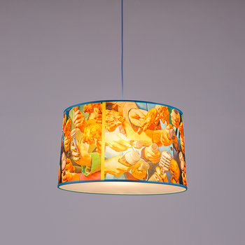 Small Toiletpaper Lamp Shade - Microphones