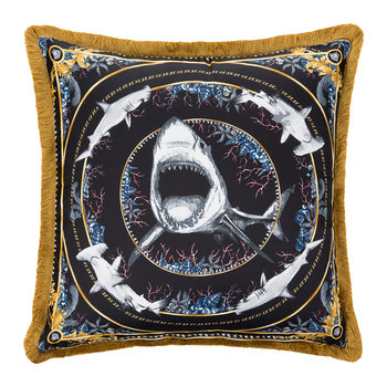 Silk Animal Cushion - 50x50cm - Bruce