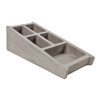 Blockwork Concrete Desk Organiser
