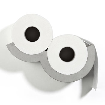 Concrete Cloud - Toilet Paper Dispenser - Extra Small