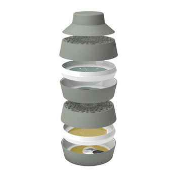 Faux Semblants - Babel Eat - Stackable Set of Plates