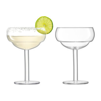 Mixologist Cocktail Coupe Glass - Set of 2