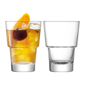 Mixologist Cocktail Glass Tumbler - Set of 2