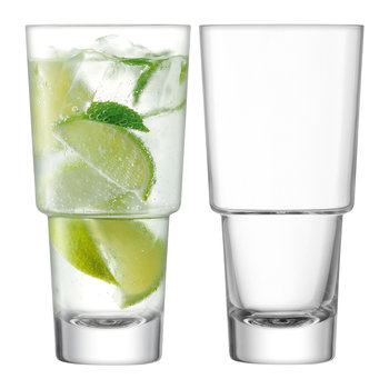 Mixologist Cocktail Highball Glass - Set of 2
